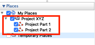 proper file structure for uploading to Transect